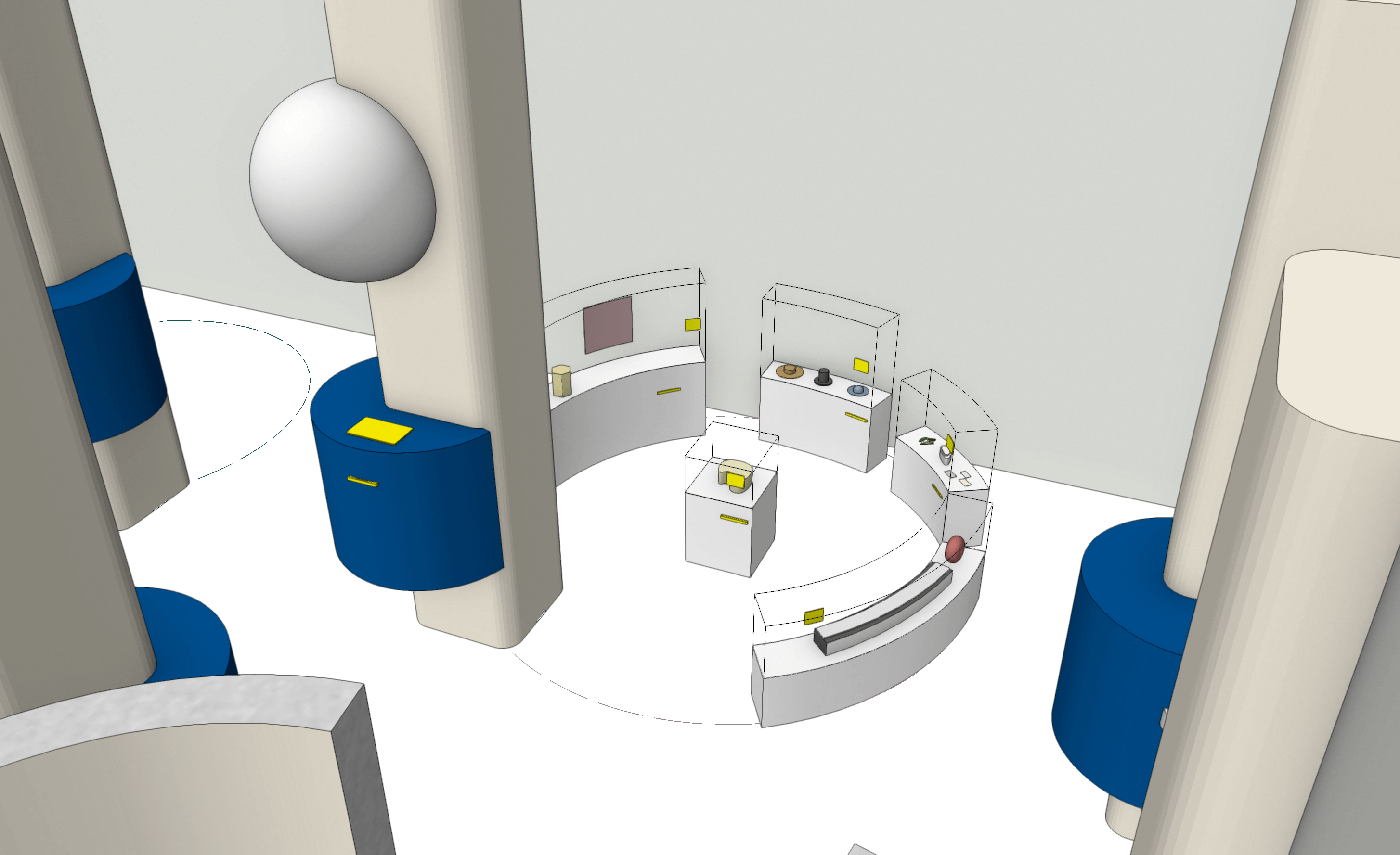3D-Themeninsel